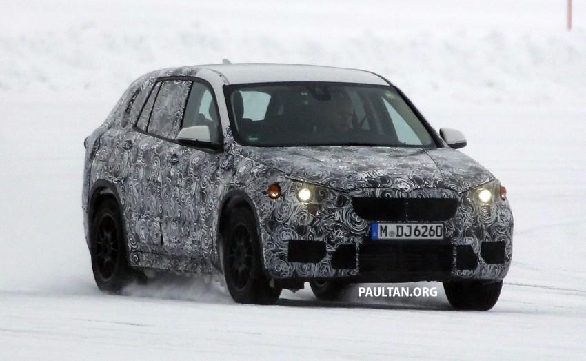 SPYSHOTS: BMW X1 – next-gen spotted winter testing Image #229401