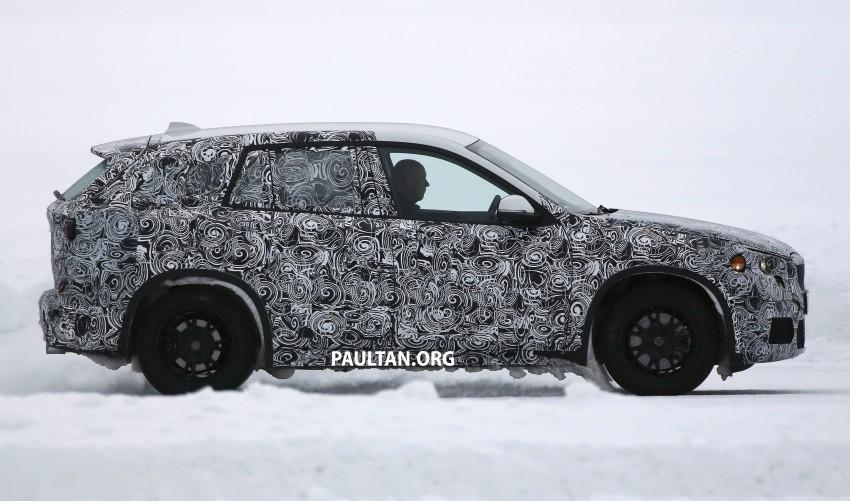 SPYSHOTS: BMW X1 – next-gen spotted winter testing Image #229399