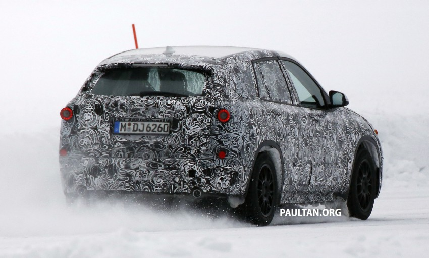 SPYSHOTS: BMW X1 – next-gen spotted winter testing Image #229397