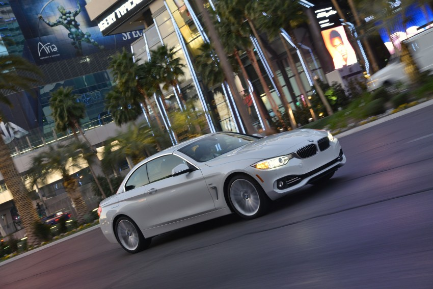 DRIVEN: BMW 435i Convertible tested in Las Vegas Image #229008