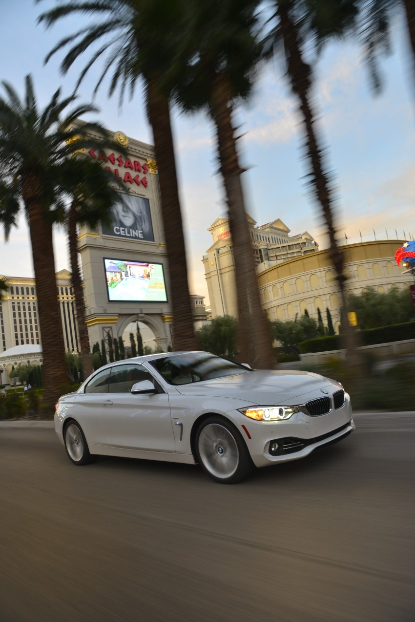 DRIVEN: BMW 435i Convertible tested in Las Vegas Image #229007