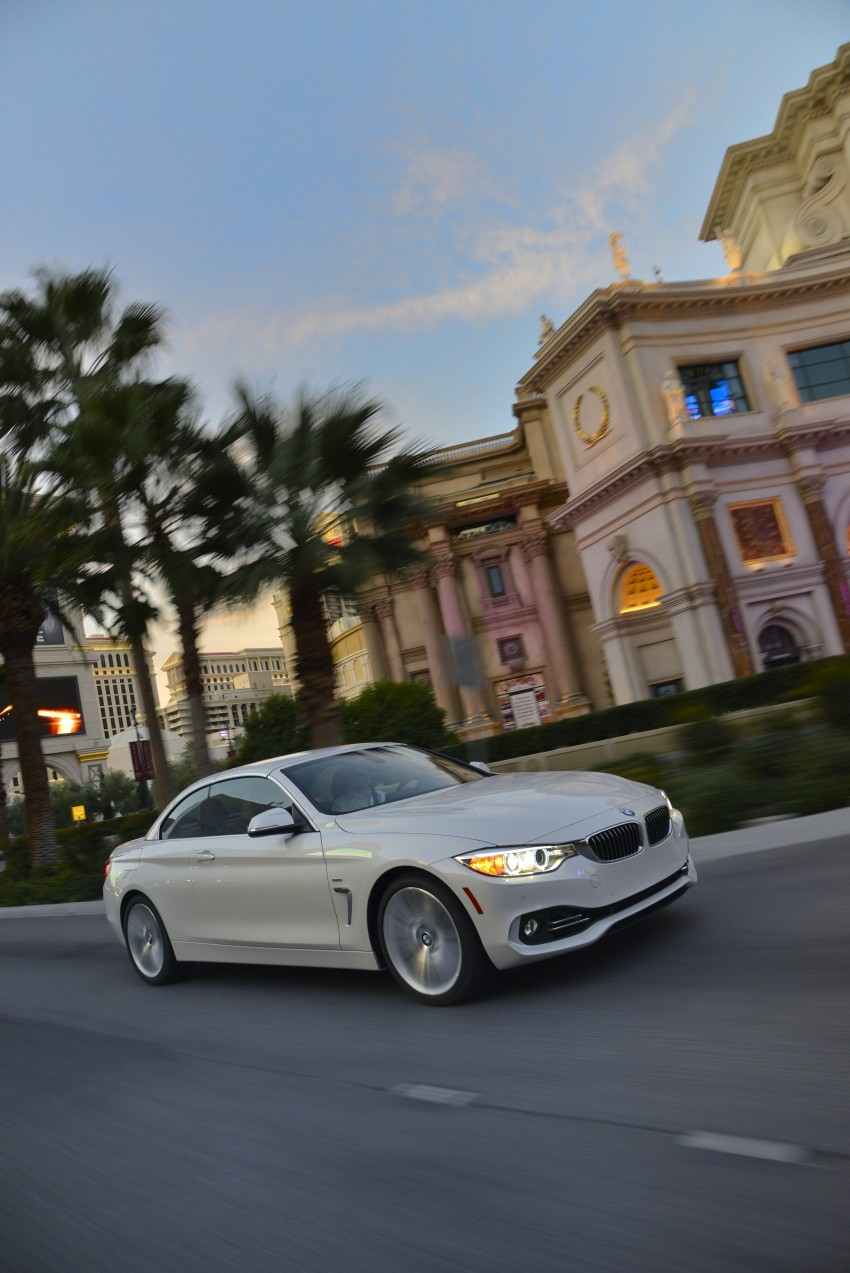 DRIVEN: BMW 435i Convertible tested in Las Vegas Image #229006