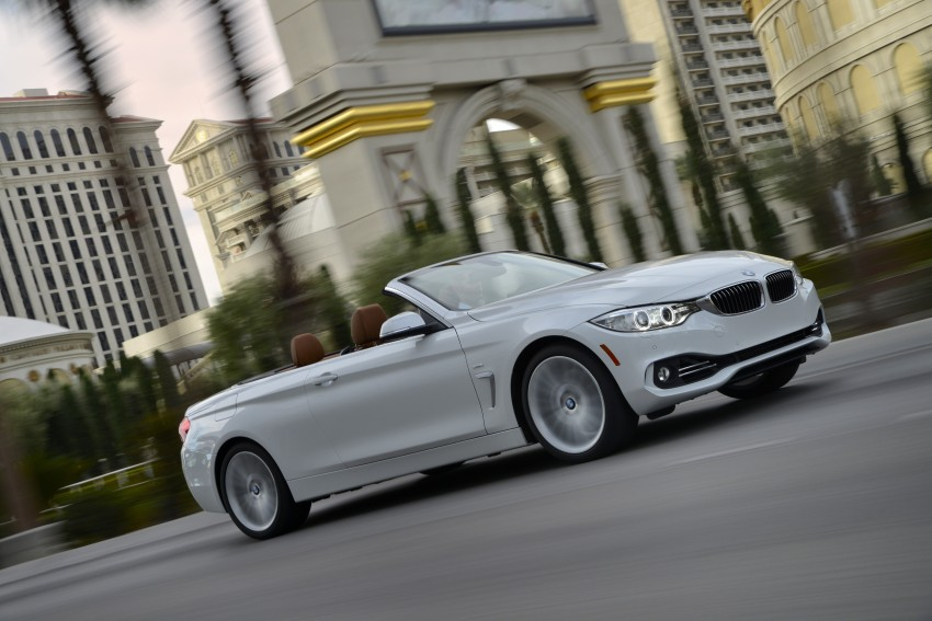 DRIVEN: BMW 435i Convertible tested in Las Vegas Image #229004