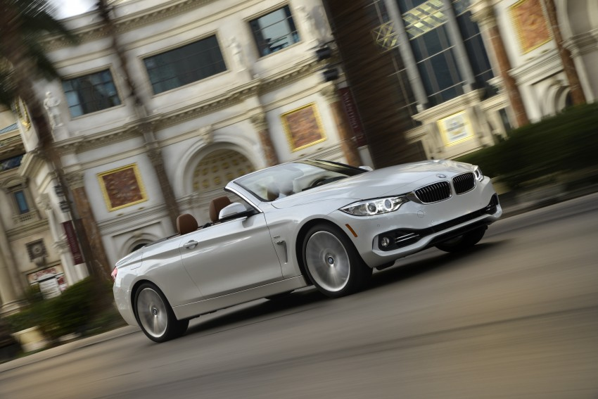 DRIVEN: BMW 435i Convertible tested in Las Vegas Image #229003