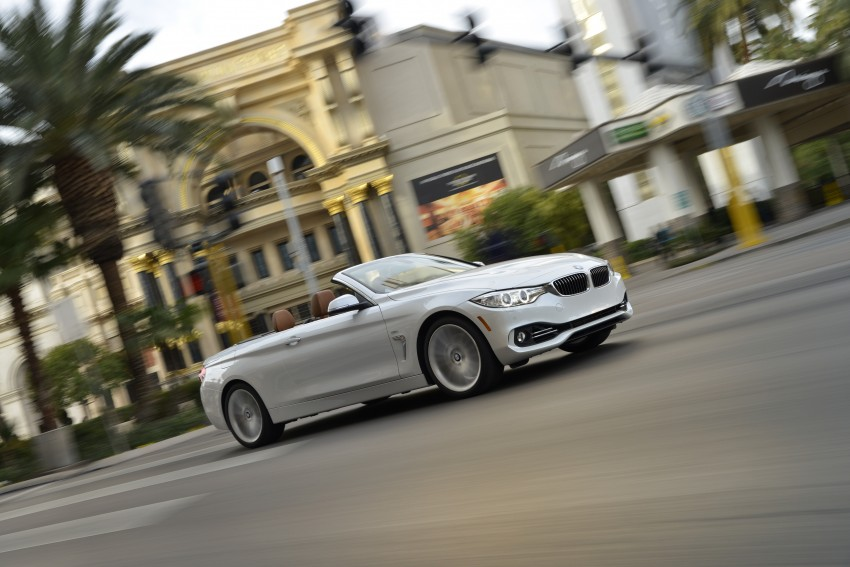 DRIVEN: BMW 435i Convertible tested in Las Vegas Image #229002