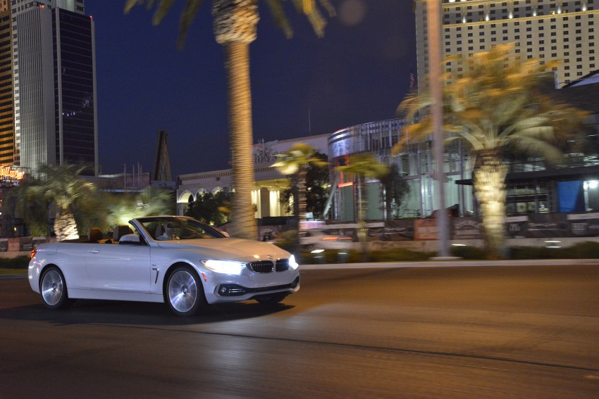 DRIVEN: BMW 435i Convertible tested in Las Vegas Image #229001
