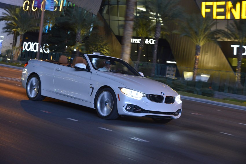 DRIVEN: BMW 435i Convertible tested in Las Vegas Image #228999