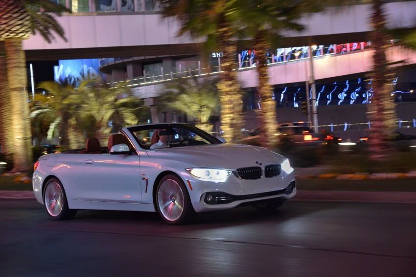 DRIVEN: BMW 435i Convertible tested in Las Vegas Image #228998