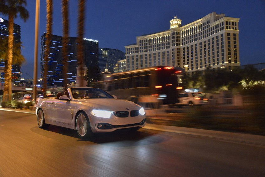 DRIVEN: BMW 435i Convertible tested in Las Vegas Image #228997