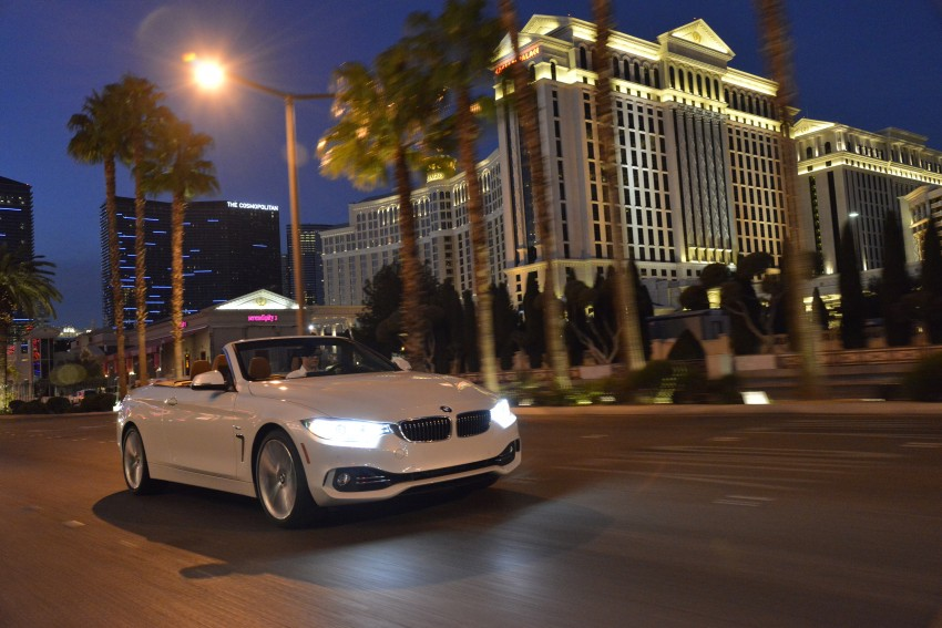DRIVEN: BMW 435i Convertible tested in Las Vegas Image #228995