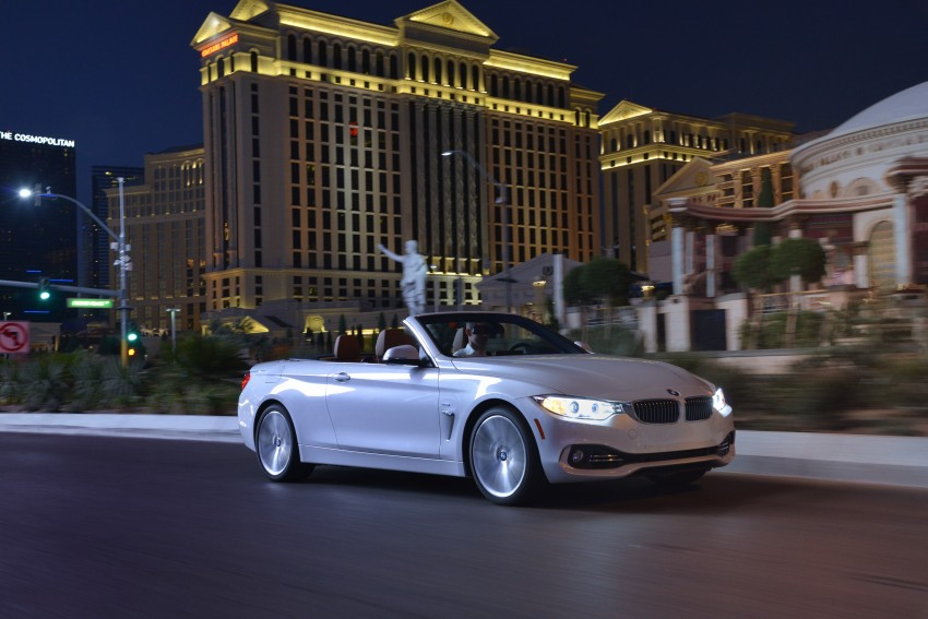 DRIVEN: BMW 435i Convertible tested in Las Vegas Image #228994