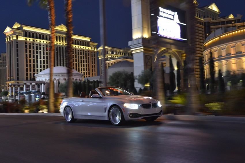 DRIVEN: BMW 435i Convertible tested in Las Vegas Image #228993