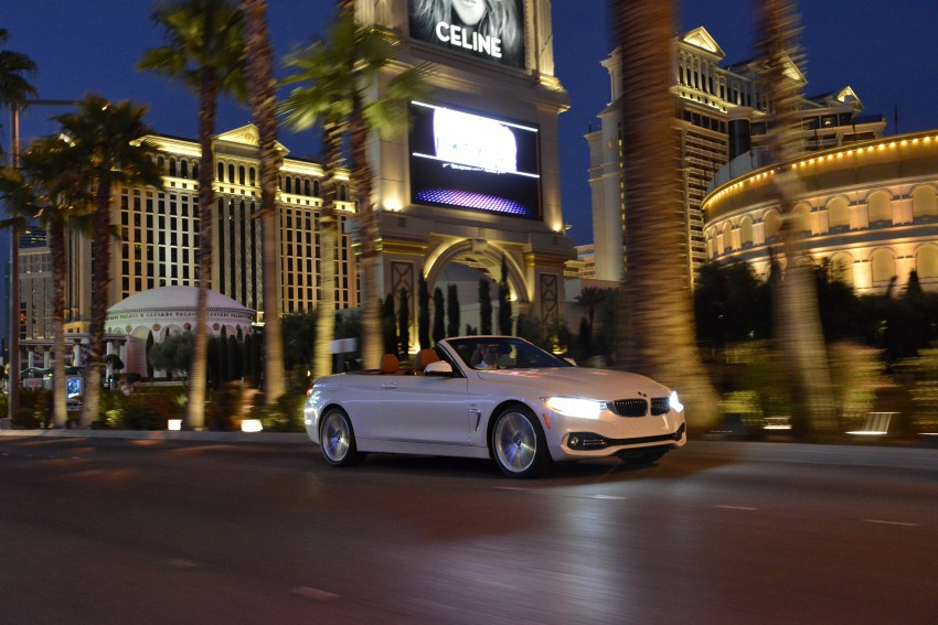 DRIVEN: BMW 435i Convertible tested in Las Vegas Image #228992