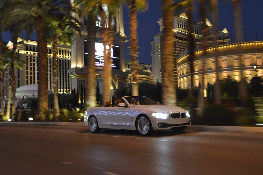DRIVEN: BMW 435i Convertible tested in Las Vegas Image #228991
