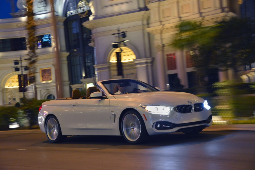 DRIVEN: BMW 435i Convertible tested in Las Vegas Image #228990