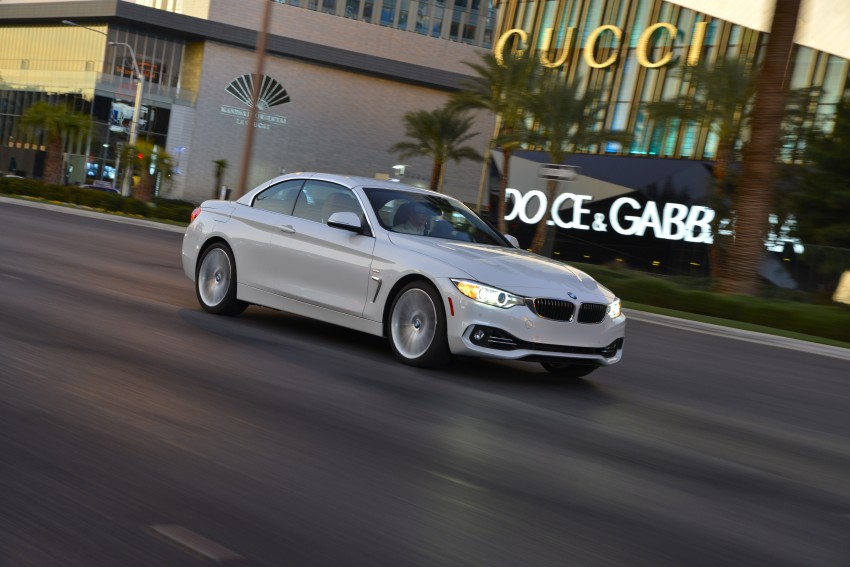 DRIVEN: BMW 435i Convertible tested in Las Vegas Image #228987