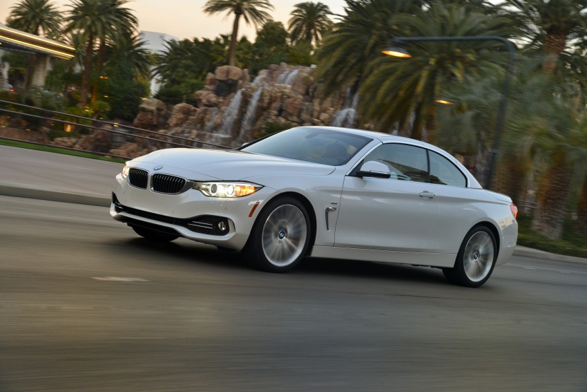 DRIVEN: BMW 435i Convertible tested in Las Vegas Image #228985