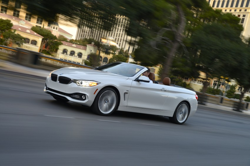 DRIVEN: BMW 435i Convertible tested in Las Vegas Image #228984