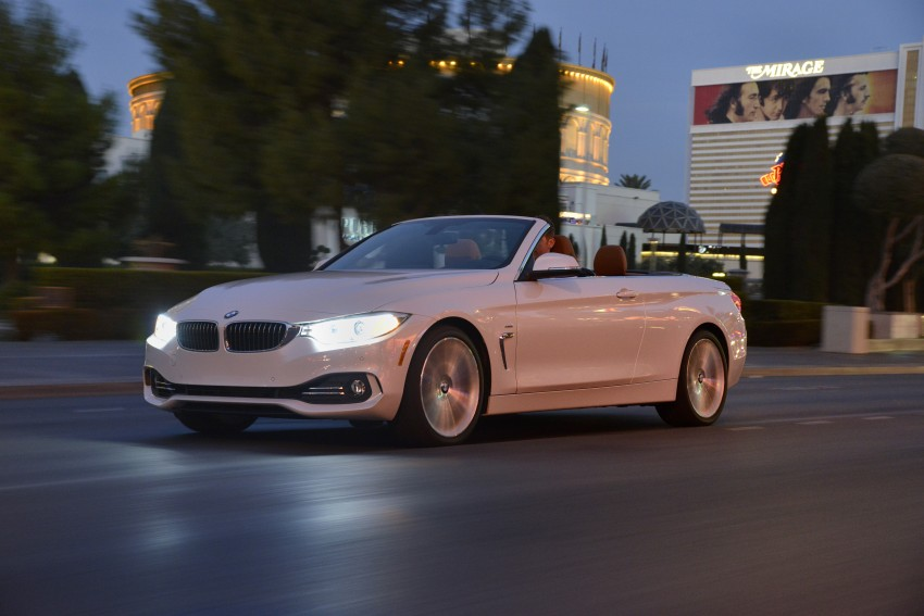 DRIVEN: BMW 435i Convertible tested in Las Vegas Image #228982