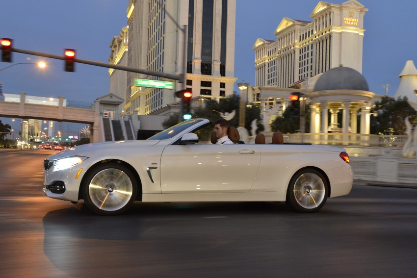 DRIVEN: BMW 435i Convertible tested in Las Vegas Image #228981
