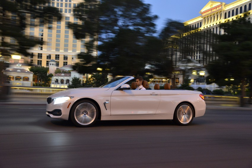 DRIVEN: BMW 435i Convertible tested in Las Vegas Image #228980