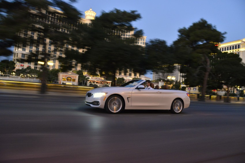 DRIVEN: BMW 435i Convertible tested in Las Vegas Image #228979