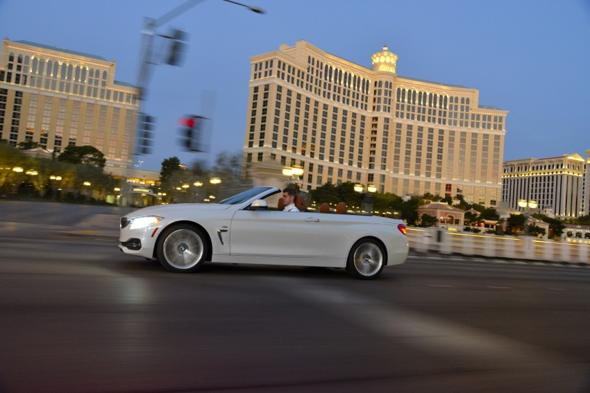 DRIVEN: BMW 435i Convertible tested in Las Vegas Image #228978