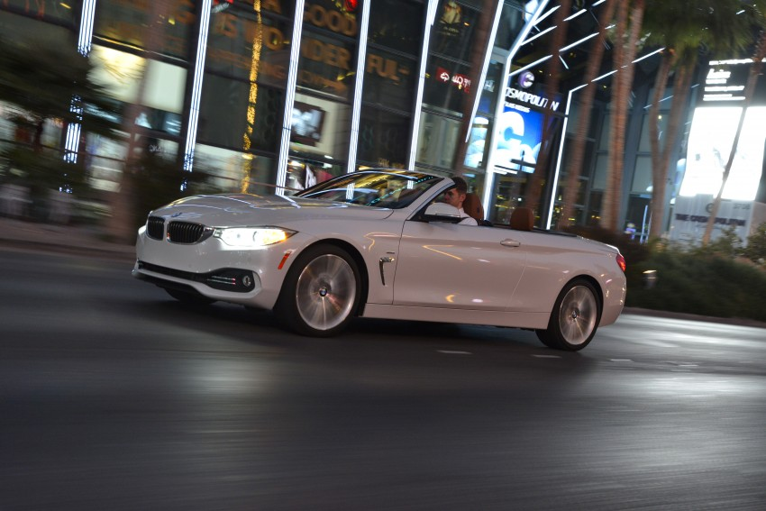 DRIVEN: BMW 435i Convertible tested in Las Vegas Image #228977