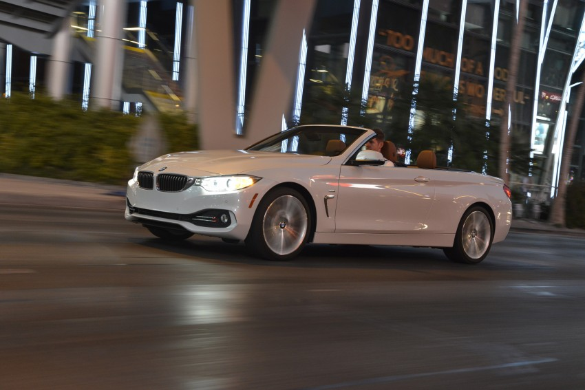 DRIVEN: BMW 435i Convertible tested in Las Vegas Image #228976