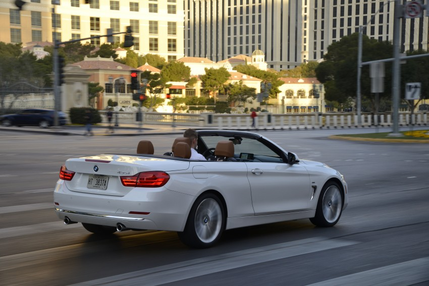 DRIVEN: BMW 435i Convertible tested in Las Vegas Image #228975