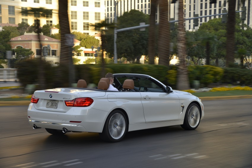 DRIVEN: BMW 435i Convertible tested in Las Vegas Image #228974