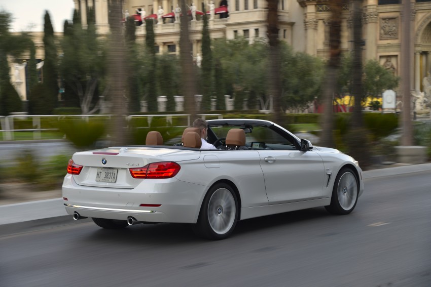 DRIVEN: BMW 435i Convertible tested in Las Vegas Image #228973