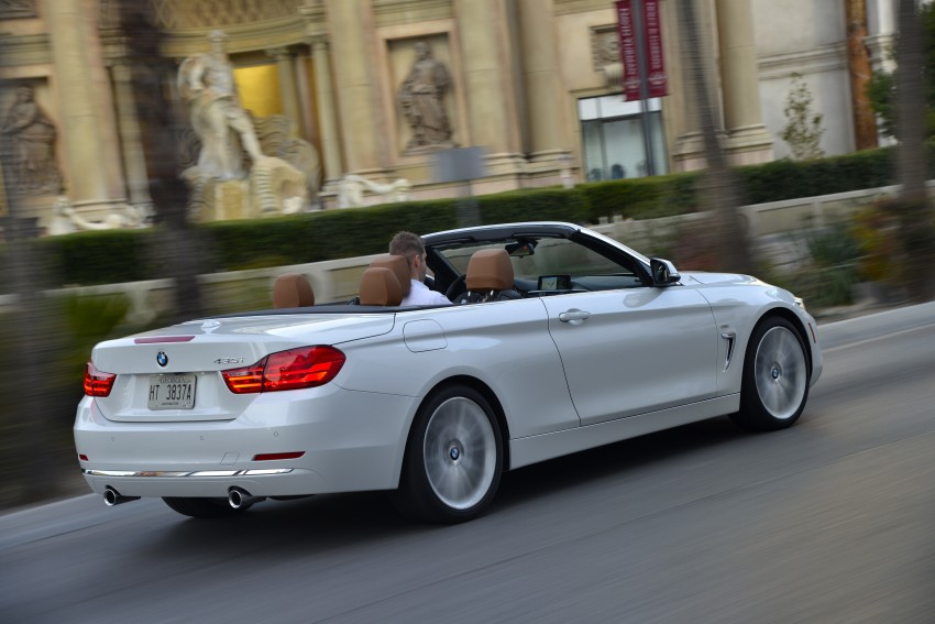 DRIVEN: BMW 435i Convertible tested in Las Vegas Image #228972