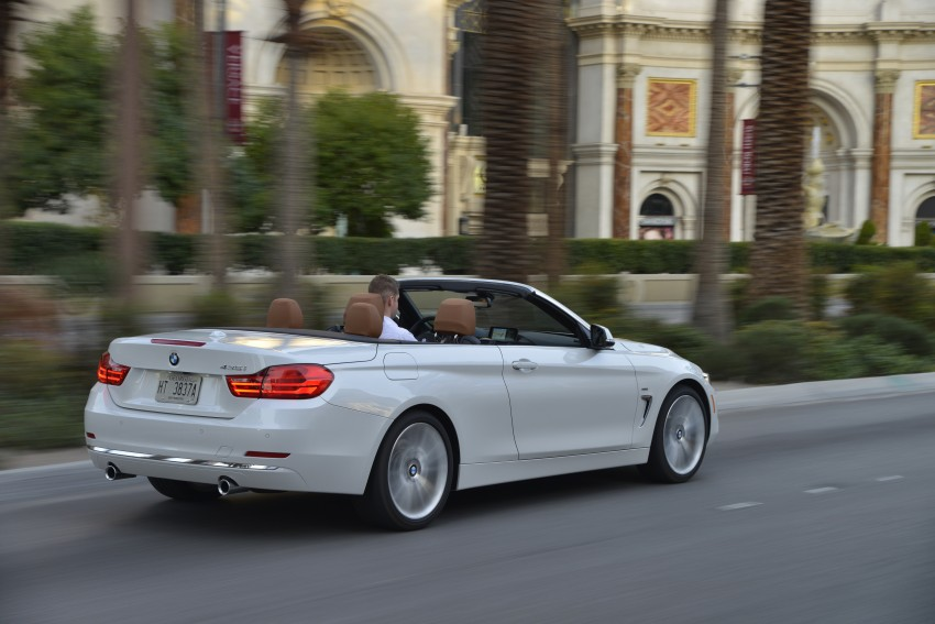 DRIVEN: BMW 435i Convertible tested in Las Vegas Image #228971