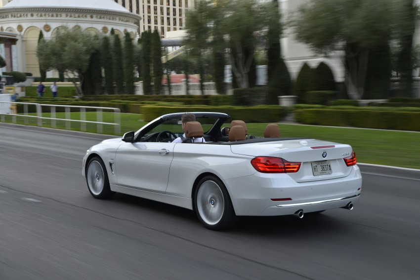 DRIVEN: BMW 435i Convertible tested in Las Vegas Image #228970