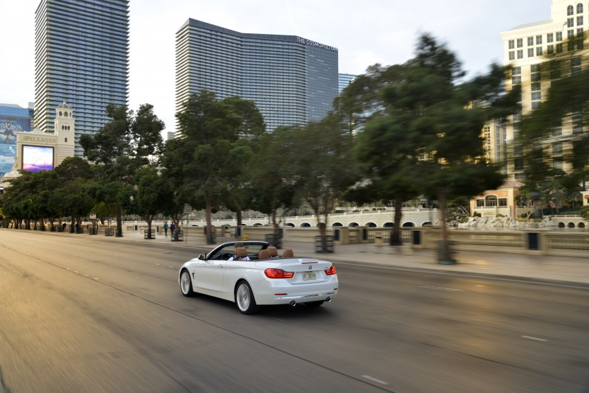 DRIVEN: BMW 435i Convertible tested in Las Vegas Image #228969