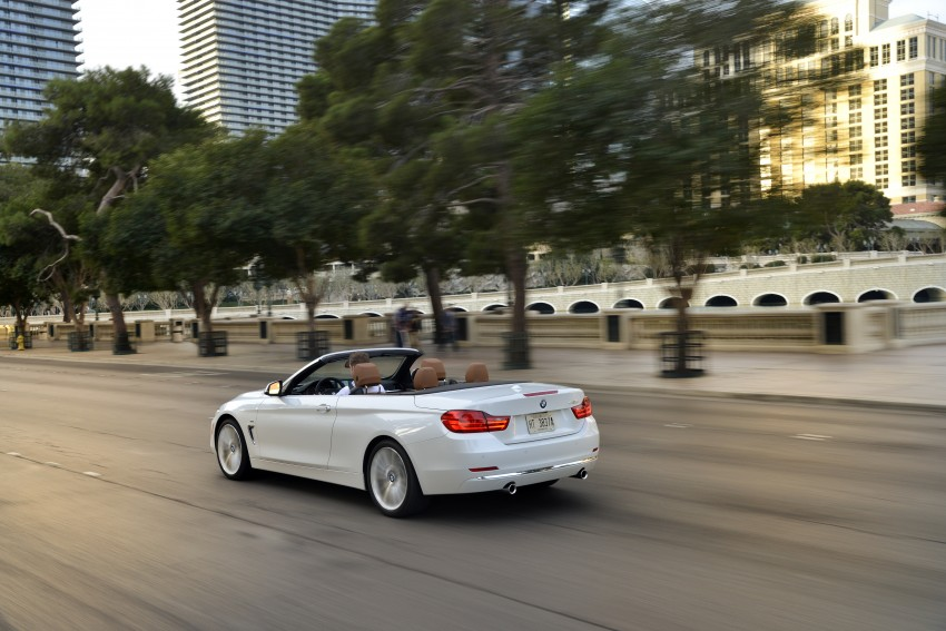 DRIVEN: BMW 435i Convertible tested in Las Vegas Image #228968