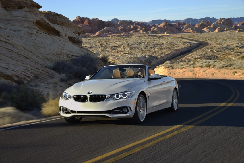 DRIVEN: BMW 435i Convertible tested in Las Vegas Image #228967