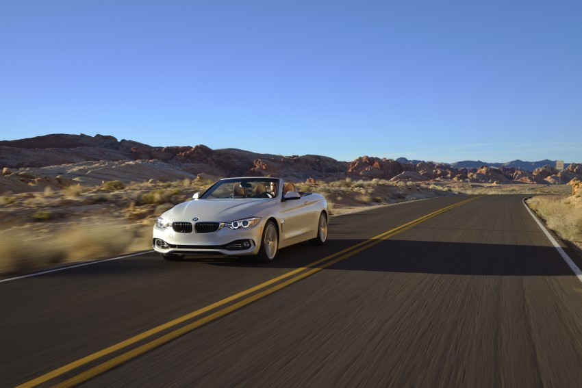 DRIVEN: BMW 435i Convertible tested in Las Vegas Image #228966