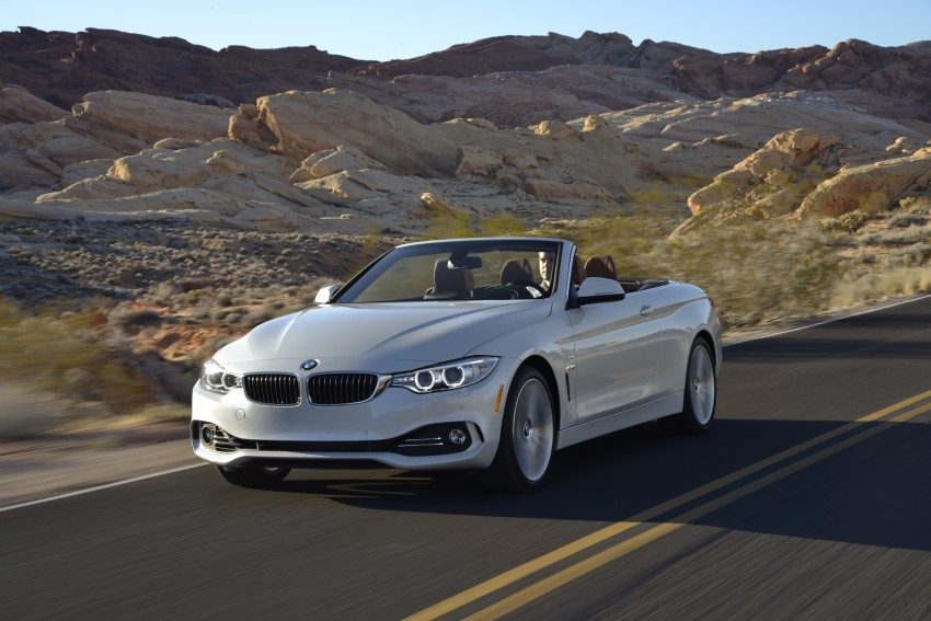 DRIVEN: BMW 435i Convertible tested in Las Vegas Image #228965