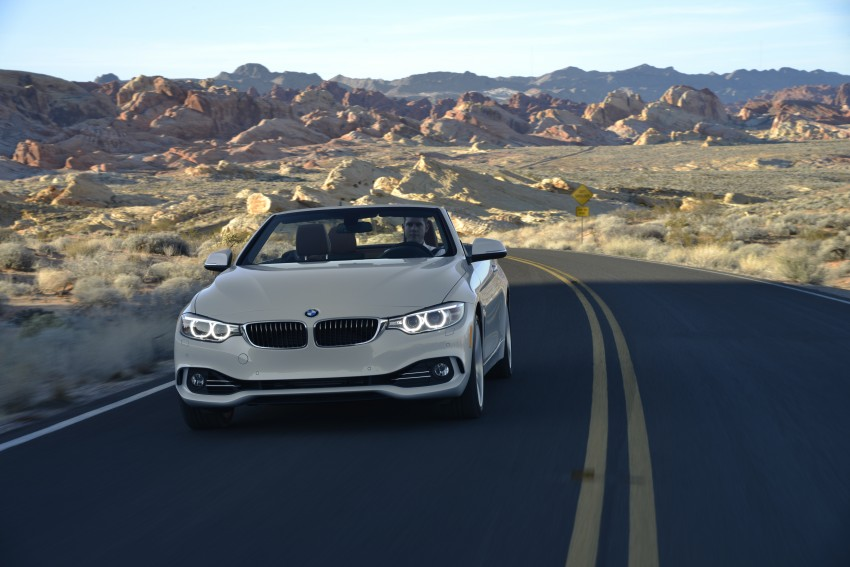 DRIVEN: BMW 435i Convertible tested in Las Vegas Image #228964