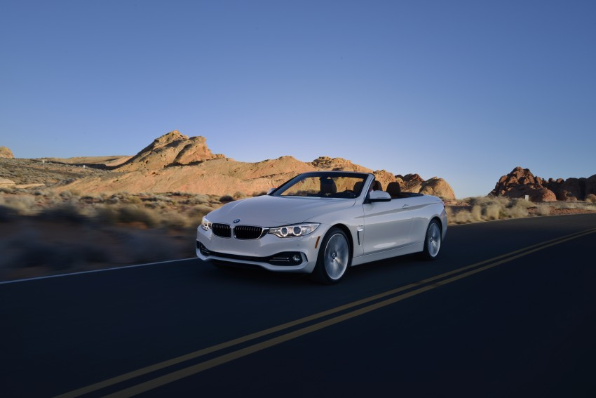 DRIVEN: BMW 435i Convertible tested in Las Vegas Image #228963