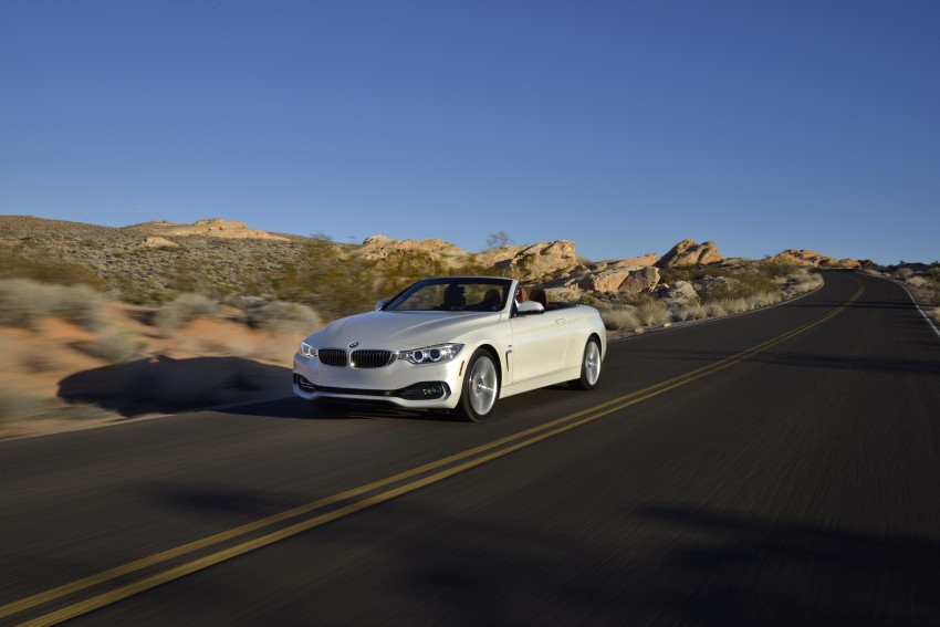 DRIVEN: BMW 435i Convertible tested in Las Vegas Image #228962