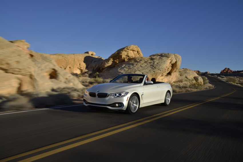 DRIVEN: BMW 435i Convertible tested in Las Vegas Image #228961