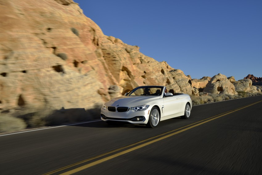 DRIVEN: BMW 435i Convertible tested in Las Vegas Image #228960