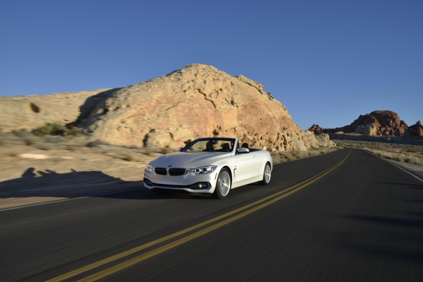 DRIVEN: BMW 435i Convertible tested in Las Vegas Image #228959