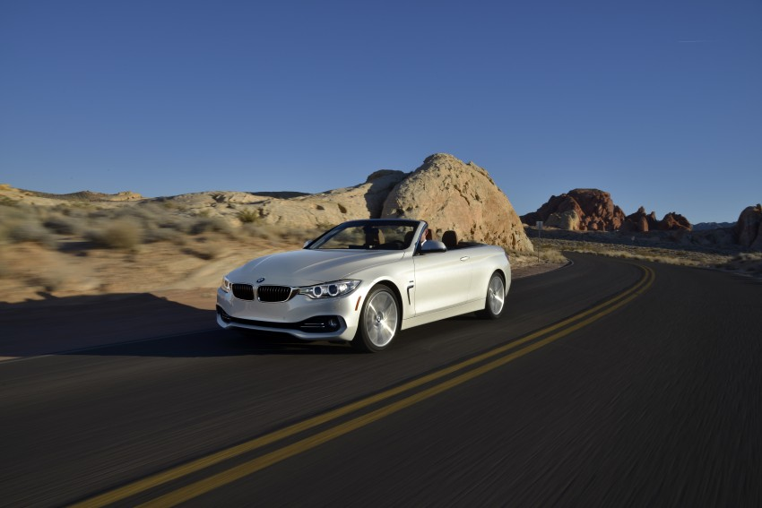 DRIVEN: BMW 435i Convertible tested in Las Vegas Image #228958