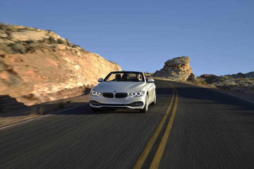 DRIVEN: BMW 435i Convertible tested in Las Vegas Image #228957