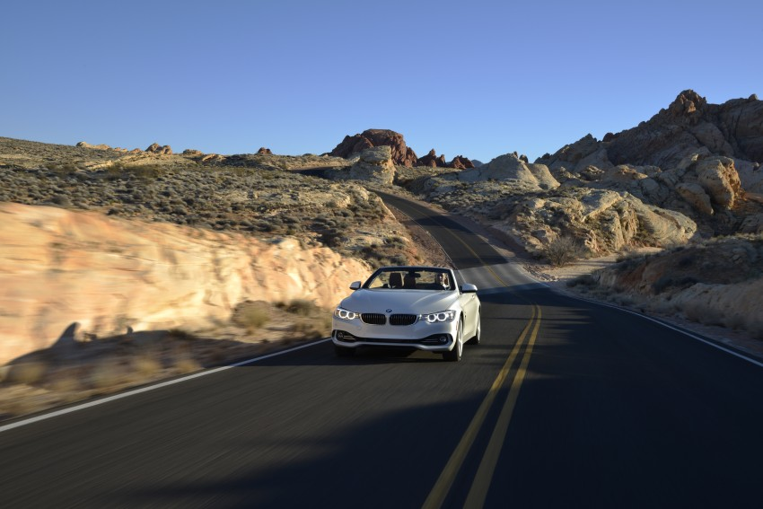 DRIVEN: BMW 435i Convertible tested in Las Vegas Image #228956