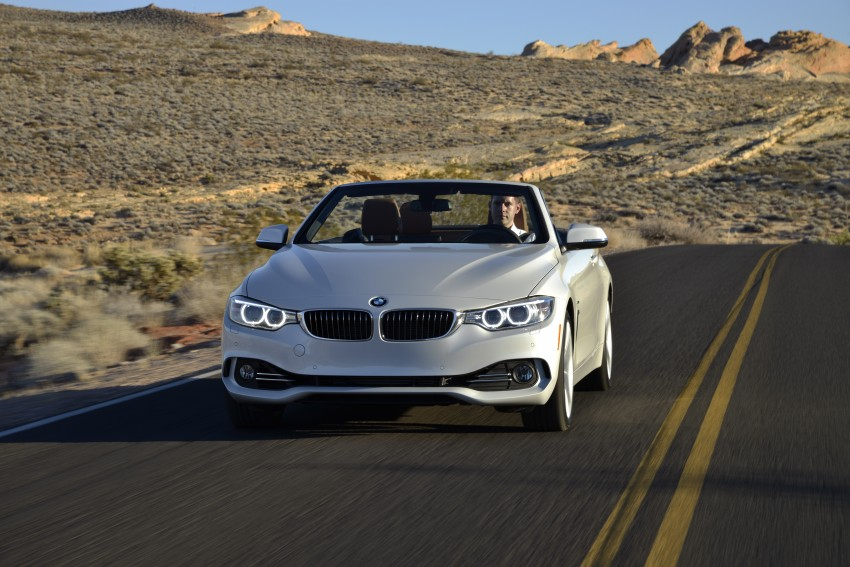 DRIVEN: BMW 435i Convertible tested in Las Vegas Image #228955